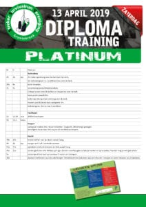 SSV diploma training PLATINUM eisen